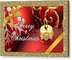 Merry Christmas Card Acrylic Print by Blair Wainman