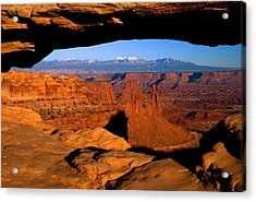 Mesa Arch Acrylic Print by Eric Foltz