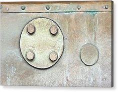 Metal Container Acrylic Print