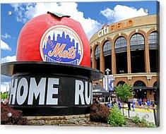 Mets Home Run Apple Acrylic Print
