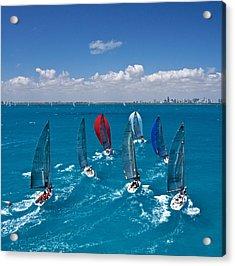 Miami Horizon Acrylic Print