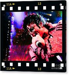 Michael Jackson Acrylic Print by RJ Aguilar