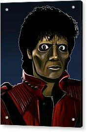 Michael Jackson Thriller Acrylic Print