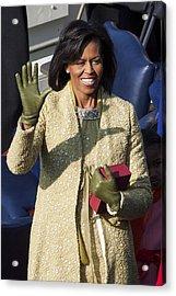 Michelle Obama Acrylic Print by JP Tripp