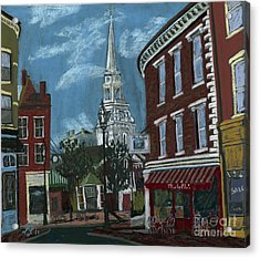 Michelle's On Market Square Acrylic Print