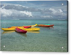 Micronesia, Mariana Islands Acrylic Print