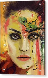 Mila Kunis  Acrylic Print by Corporate Art Task Force