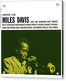Miles Davis -  Miles Davis And The Modern Jazz Giants (prestige 7150) Acrylic Print