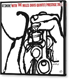Miles Davis Quintet -  Cookin' With The Miles Davis Quintet Acrylic Print by Concord Music Group