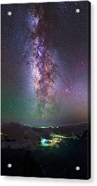 Milky Way Over La Palma Acrylic Print by Babak Tafreshi