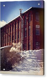 Mill Acrylic Print by HD Connelly
