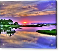 Million Dollar View Acrylic Print by Ed Roberts