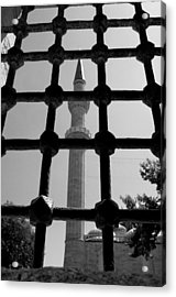 Minaret Acrylic Print by Ernesto Cinquepalmi