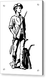 Minuteman Acrylic Print by Granger
