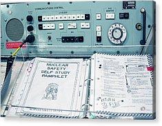 Minuteman Missile Control Room Acrylic Print