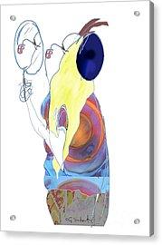 Mirror Mirror Acrylic Print by Gabrielle Schertz