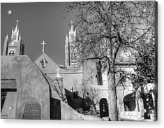 Mission In Black And White Acrylic Print