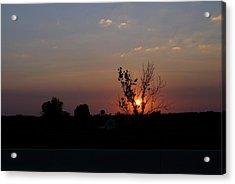 Missouri Sunset Acrylic Print