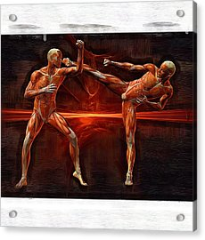 Mixed Martial Arts Acrylic Print