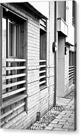 Modern Apartment Windows Acrylic Print by Tom Gowanlock
