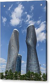 Modern Condos In Mississauga Ontario Canada Acrylic Print