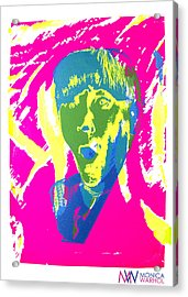Moe Howard Acrylic Print