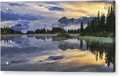Molas Lake Sunrise Acrylic Print