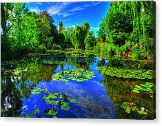 Monet's Lily Pond Acrylic Print