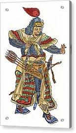 Mongol General Acrylic Print