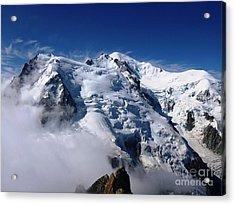 Mont Blanc - France Acrylic Print