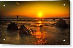 Montauk New York Summer Sunrise Acrylic Print