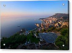 Monte Carlo Acrylic Print by Ioan Panaite