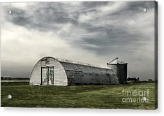 Montezuma Iowa - Farm  Acrylic Print by Gregory Dyer