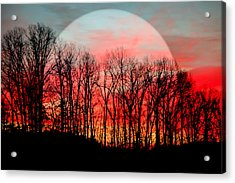 Moon Dance Acrylic Print by Karen Wiles