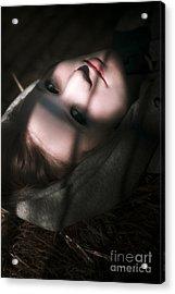 Moon Lit Face Acrylic Print by Jorgo Photography - Wall Art Gallery