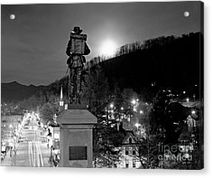 Moon Over Sylva 2004 Acrylic Print