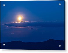 Moonrise Acrylic Print by David Cote