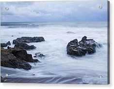 Moonstone Beach Surf 1 Acrylic Print