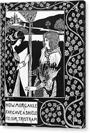 Morgan Le Fay Acrylic Print by Granger