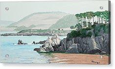 Morning At Point Lobos Acrylic Print