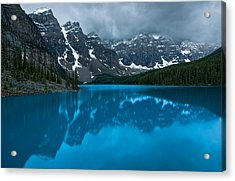 Morning Moraine Acrylic Print