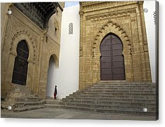 Morocco. Sal�. Great Mosque Acrylic Print by Everett