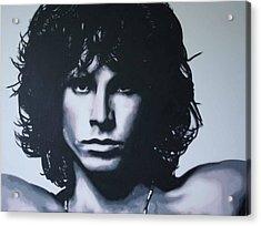 Morrison Acrylic Print by Luis Ludzska