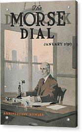 Morse Dry Dock Dial Acrylic Print