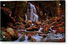 Moss Glen Falls. Acrylic Print