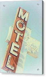 Acrylic Print featuring the photograph Motel El Rey by Gigi Ebert