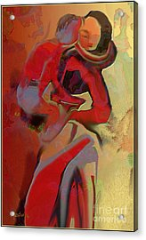 Mother And Child Acrylic Print by Nedunseralathan R