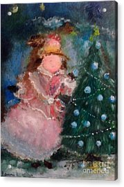 Mother Christmas Acrylic Print