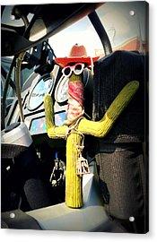 Motorcycle Talisman Acrylic Print by Patricia Januszkiewicz