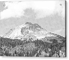 Mount Lassen Acrylic Print by Frank Wilson